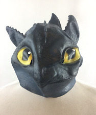How To Train Your Dragon Toothless Boys Mask Costume Dress Up Halloween NWOT