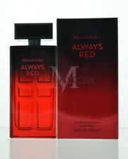 Elizabeth Arden Always Red For Women Eau De Toilette Spray 3.3 Oz 100 Ml  New