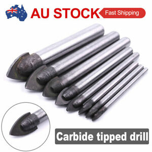 1*4/8/10mm Tile Glass Drill Bit Tungsten Carbide Tip For Ceramics Mirrors Marble