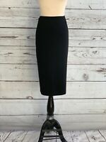NWT Nikki Mae Black Pencil Below The Knee Skirt Size 13