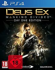 Deus Ex PS4 - Mankind Divided Day One Edition Uncut  - PlayStation 4