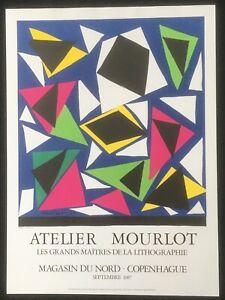 Henri Matisse Atelier Mourlot Magasin du Nord Copenhague 1987 poster