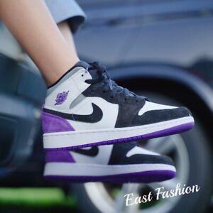 Nike Air Jordan 1 Mid Retro SE Union Purple White Purple 852542-105 BQ6931-105