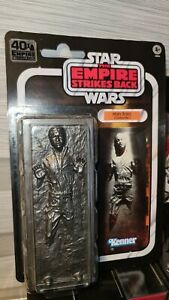 "Star Wars Black Series 6"" 40th Anniversary Han Solo Carbonite Brand New Sealed"