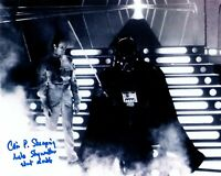 COLIN SKEAPING signed Autogramm 20x25cm STAR WARS In Person autograph COA