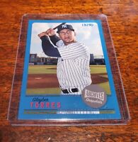 GLEYBER TORRES SP 13/50 BLUE 2019 TOPPS ARCHIVES SNAPSHOTS NEW YORK YANKEES #/50