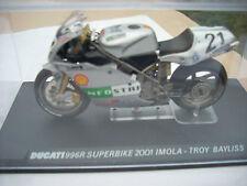 DUCATI  996R SUPERBIKE 2001 IMOLA TROY BAYLISS SCALA 124