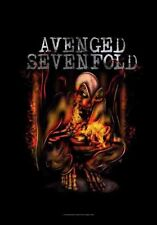 AVENGED SEVENFOLD - FIRE BAT FABRIC POSTER - 30x40 WALL HANGING - HFL1079