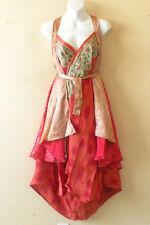 """M619 Reversible Vintage Silk Magic 30"""" Length Wrap Skirt Halter Tube Dress + DVD"""