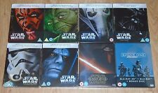 Star Wars Collection (8 blu-rays)  Steelbook. NEW & SEALED (UK release). JOBLOT