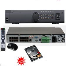 16Ch Hd-Tvi H.265 4K/8Mp 3840x2160 1.5U Case High Definition Dvr System 5-in-1