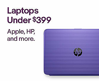 Laptopns Under $399   Apple, HP, and more.