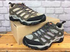 MERRELL LADIES UK 8 EU 42 GREY PURPLE MOAB BELUGA SUEDE WALKING BOOTS