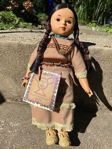 "Vintage 1998 12"" SHY HEART CHEYENNE Sandy Doll Native American Warrior #107"