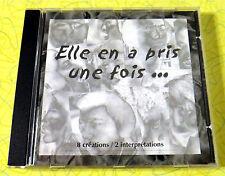Elle en a bris une fois ~ Music CD ~ 8 Creations 2 Interpretations 1999 Free Son