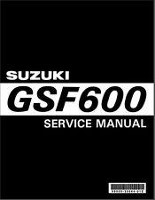Suzuki GSF600 Service Manual  99500-35044-01E