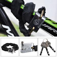 Motorbike Bicycle safety chain pad lock mountain road bike cycle