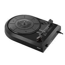 Akai A60008 Vinyl USB Turntable with a Speaker - Converts Vinyl LPs to MP3 - NEW