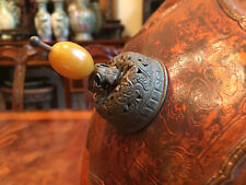 New listing A Rare and Important Antique Tibetan Tulku Ceremonial Lacquer Hat.