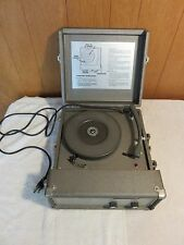 Vintage THE VOICE OF MUSIC (Model 270) Portable Record Player Turntable PARTS