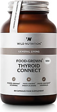 Wild Nutrition Food-Grown Thyroid Connect 60 Capsules