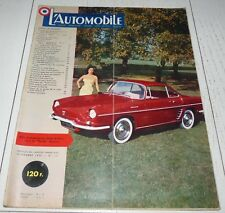 L'AUTOMOBILE 11/1958 N°151 VOLVO AMAZONE NSU PRINZ AUSTIN A40 SALON ASTON-MARTIN
