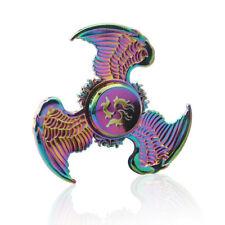 Angel Wings Metal Fidget Finger Spinner Hand Spin Bearing Focus Stress Rainbow