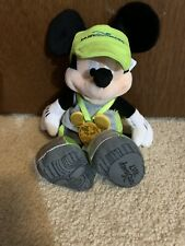 """New listing Disney Parks Exclusive Run Disney Mickey Mouse 11"""" Plush Toy Limited 2017 New"""