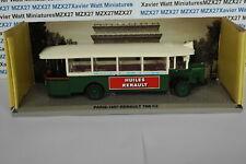 TEST EDITION ATLAS BUS PARISIEN RATP RENAULT TN6 C2  1957 1/50ème
