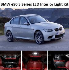 PREMIUM BMW E90 3 Series 04-11 FULL LED Light UPGRADE WHITE Interior KIT