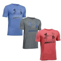 NWT Under Armour Boy's heatgear Big Logo 1290097 Loose Fit T-Shirt
