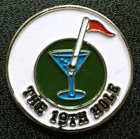 19th Hole Golf Ball Marker - New!