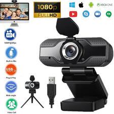 HD Webcam 1080P Kamera USB 2.0 3.0 Mit Mikrofon Autofokus für PC Laptop Computer