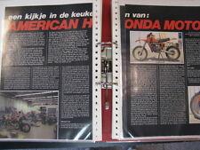 Clipping / artikel  American Honda Motor (jaren 70 / 80 NED)