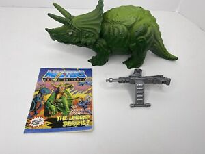 BIONATOPS Vintage 1986 Masters of the Universe MOTU He-Man Dinosaur With Comic