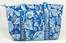 Vera Bradley Floral Blue/White Tote Handbag