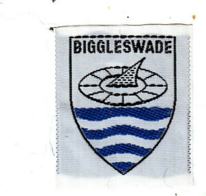 Boy Scout Badge ribbon BIGGLESWADE white