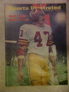 DUANE THOMAS Washington Redskins Sports Illustrated NO LABEL 8/27/1973