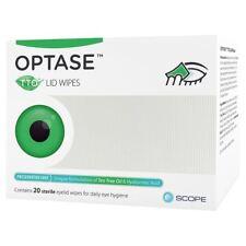 optase TTO ( Huile Arbre à thé ) yeux couvercle Serviettes - Sans conservateur (
