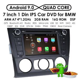 Car Stereo Sat nav Android 10.0 For BMW 1 Series E81 E82 E88 Carplay DAB+WIFI