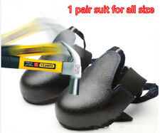 Portable Steel Toe Cap Shoes Cover As Work Safety Boots/Footwear for Visitors