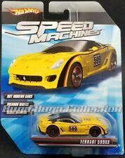 Hot Wheels 2009 Speed Machines Ferrari 599xx Yellow