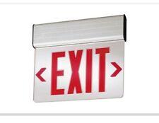 Lithonia Lighting Edg 1 R El M6 Edge Lit Led Emergency Exit Sign
