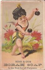 Philadelphia, PENNSYLVANIA - TRADE CARD - Bush & Co. Borax Soap