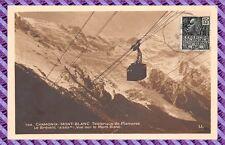 Carte Postale - Chamonix Mont Blanc - Téléphérique de Plampraz