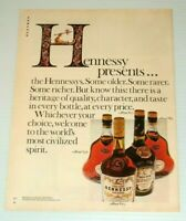 1976 Print Ad Hennessy Cognac Vintage 70's advertisement