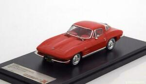 CHEVROLET Corvette C2 Sting Ray Sport Coupe red - 1964 1:43 Premium X