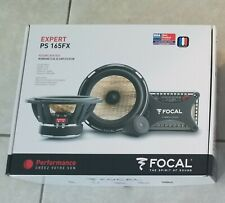 "New ListingNew Focal Ps-165Fx 6.5"" 80W Rms Car Component System Speaker Set Speakers 6 1/2"""