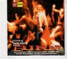 (GT363) Rock Sound Presents Burn, 22 tracks various artists - sealed CD