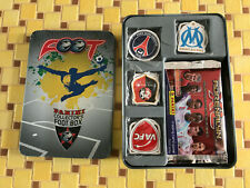 boite metal collector foot box panini adrenalyn 2010/2011 ligue 1